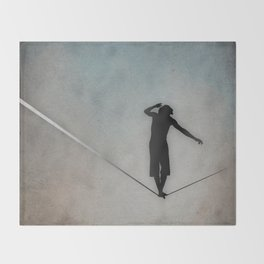 Slackline Throw Blanket