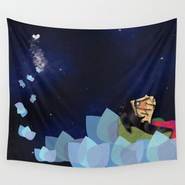 swimming Wall Tapestry