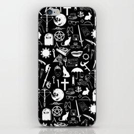 Buffy Symbology, White iPhone Skin