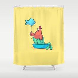Pisces (Zodiac set) Shower Curtain