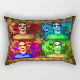 Michael Fassbender...Joker style! Rectangular Pillow