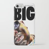 notorious big iPhone & iPod Cases featuring Notorious BIG by Jamaal lamaaj studio.