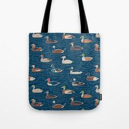 Duck, duck... duck Tote Bag