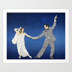 First Dance Art Print