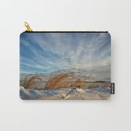 Snow Dunes Carry-All Pouch