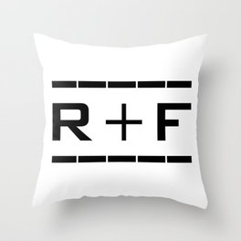 Rodan Fields Consultant Skin-Care RF Throw Pillow