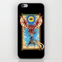 monster hunter iPhone & iPod Skins featuring Epic Monster Hunter by MeleeNinja