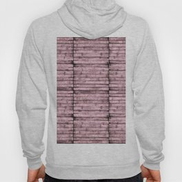 Blush Pink Wood Pattern Hoody