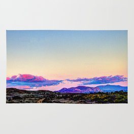 Purple Mountains Rug