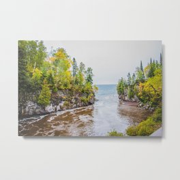 Temperance River State Park, Minnesota 7 Metal Print