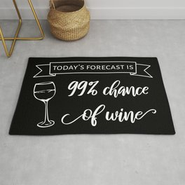 Wine Forecast II Rug