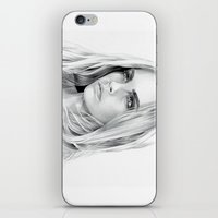 cara delevingne iPhone & iPod Skins featuring Cara Delevingne by sesven