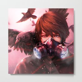 ravenous virus spreader Metal Print