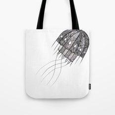 pattern jellyfish Tote Bag