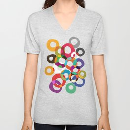 Loop Hoop Unisex V-Neck