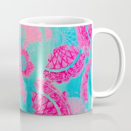 Pink Mandalas Mug Coffee Mug