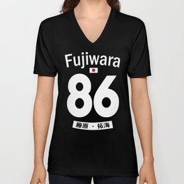 Fujiwara Jersey Unisex V-Neck