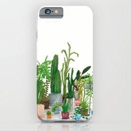Plant Family Portrait iPhone Case