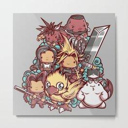 Cute Fantasy VII Metal Print