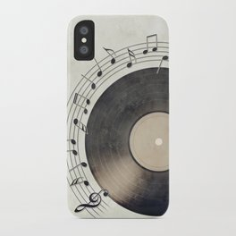 Vinyl Music Collection iPhone Case