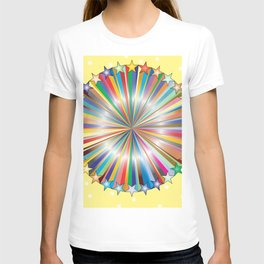Multi Color Circle of Color T-shirt