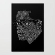 Malcom X Canvas Print