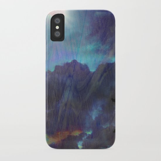 Blend Back From Affar iPhone Case