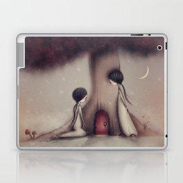Finding Fairy Doors Laptop & iPad Skin