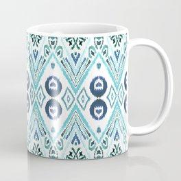 Ikat Java Blue Coffee Mug