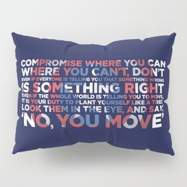 Civil War Quote Pillow Sham