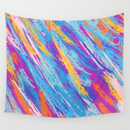 Rebellion of summer colors Wall Tapestry