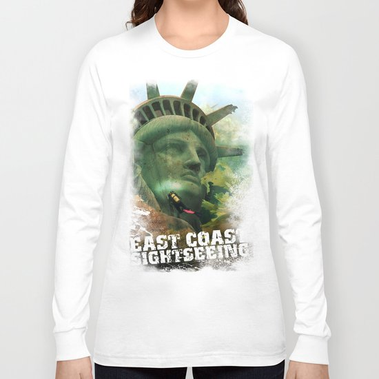 East Coast Sightseeing Long Sleeve T-shirt