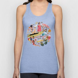 Out of Office Unisex Tank Top