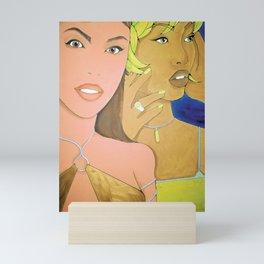 Ladies Room Mini Art Print
