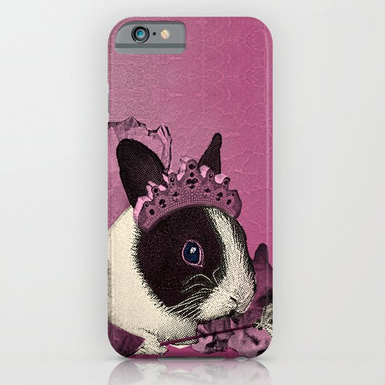 Pink Bunny Princess Print iPhone & iPod Case