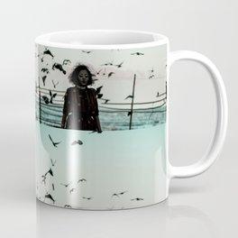 Modern Noir by Divya On Mars Coffee Mug