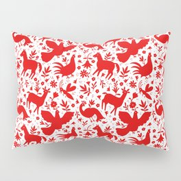 Otomi in red Pillow Sham