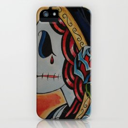 Fiery Deadhead iPhone Case