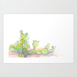 Prickly Pear. Art Print