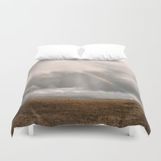 Rainbow's Blessing Duvet Cover