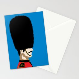 Grand mustache Beefeater Stationery Cards