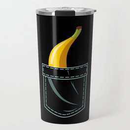 Banana In Pocket Travel Mug