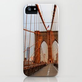 Brooklyn Bridge Sunrise iPhone Case