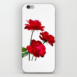 Roses are red, really red! iPhone Skin