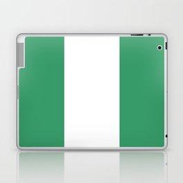 Flag of nigeria 2 -nigeria, nigerian,africa,hausa,igbo,Yoruba,Naira,Lagos,Kano Laptop & iPad Skin