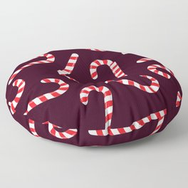 Candy Canes! Floor Pillow