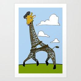 Gireffel Tower Art Print