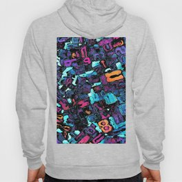 Pop Art Typeset Hoody
