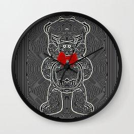 The Mischevous Piggy Wall Clock