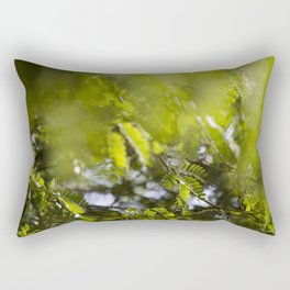Through the Leaves Rectangular Pillow